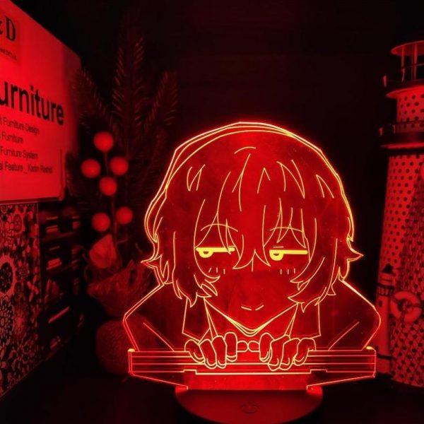DAZAI LED ANIME LAMP (BUNGO STRAY DOGS) Otaku0705 TOUCH +(REMOTE) Official Anime Light Lamp Merch