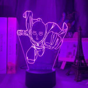 SAITAMA LED ANIME LAMP (ONE PUNCH MAN) Otaku0705 TOUCH Official Anime Light Lamp Merch