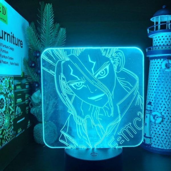 SENKU LED ANIME LAMP (DR. STONE) Otaku0705 TOUCH Official Anime Light Lamp Merch