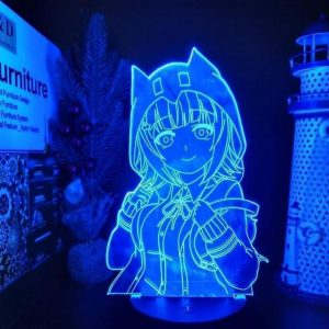 CHIAKI NANAMI LED ANIME LAMP (DANGANRONPA) Otaku0705 TOUCH Official Anime Light Lamp Merch