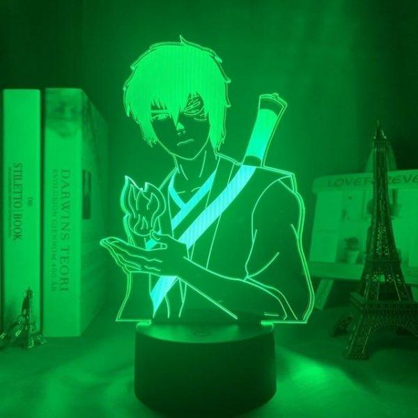 ZUKO LED ANIME LAMP (AVATAR THE LAST AIRBENDER) Otaku0705 TOUCH Official Anime Light Lamp Merch