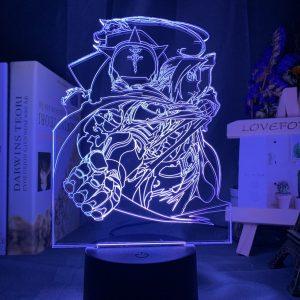 EDWARD ELRIC LED ANIME LAMP (FULLMETAL ALCHEMIST) Otaku0705 TOUCH +(REMOTE) Official Anime Light Lamp Merch