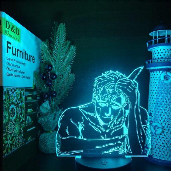 SANGWOO SLICE LED ANIME LAMP (KILLING STALKING) Otaku0705 TOUCH +(REMOTE) Official Anime Light Lamp Merch