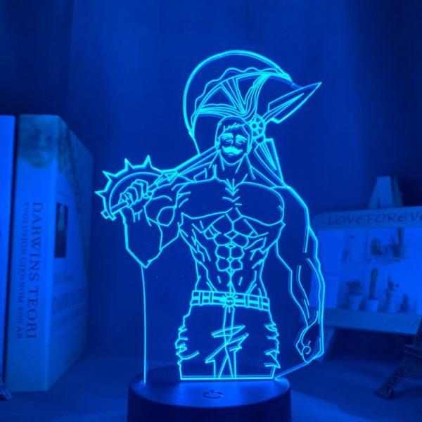 ESCANOR LED ANIME LAMP (SEVEN DEADLY SINS) Otaku0705 TOUCH +(REMOTE) Official Anime Light Lamp Merch