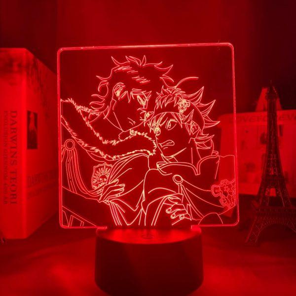 ASTA X YUNO LED ANIME LAMP (BLACK CLOVER) Otaku0705 TOUCH +(REMOTE) Official Anime Light Lamp Merch