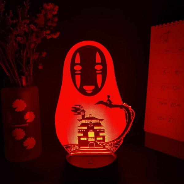 NO-FACE LED ANIME LAMP (SPIRITED AWAY) Otaku0705 TOUCH Official Anime Light Lamp Merch