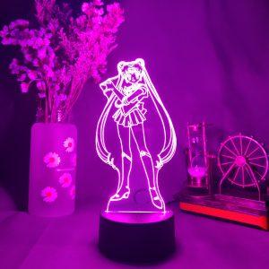 WAIFUU SERENA LED ANIME LAMP (SAILOR MOON) Otaku0705 TOUCH Official Anime Light Lamp Merch