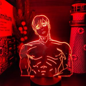 SANGWOOOW LED ANIME LAMP (KILLING STALKING) Otaku0705 TOUCH +(REMOTE) Official Anime Light Lamp Merch