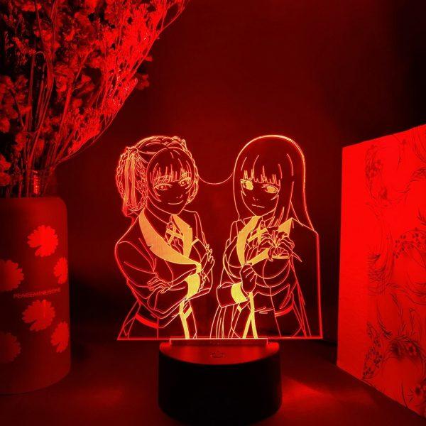 KIRARI MOMOBMAI X YUMEKO JAMBAMI LED ANIME LIGHT (KAKEGURUI) Otaku0705 TOUCH Official Anime Light Lamp Merch