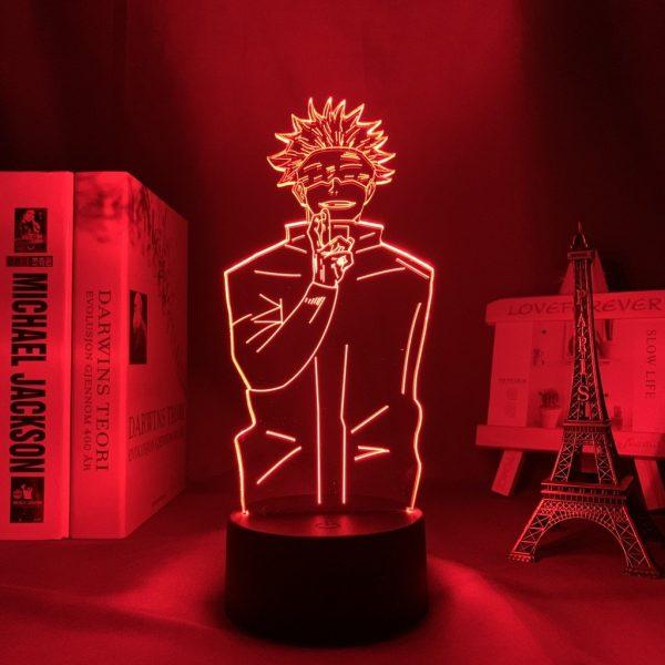 GOJO SATORU+ LED ANIME LAMP (JUJUTSU KAISEN) Otaku0705 TOUCH +(REMOTE) Official Anime Light Lamp Merch