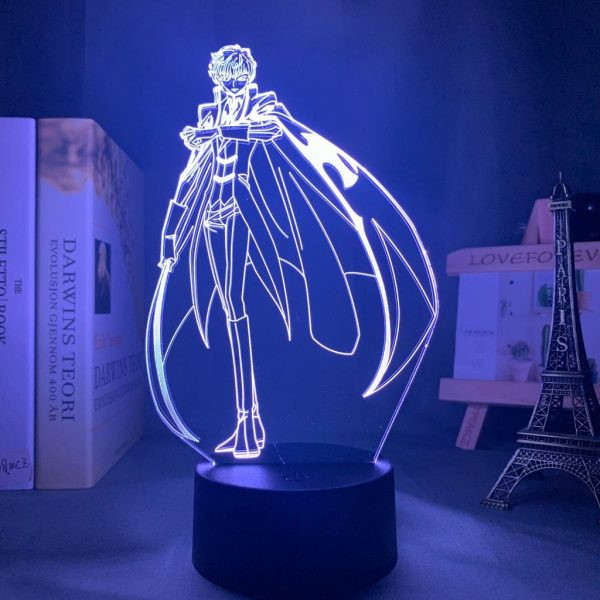 SUZAKU KURURUGI LED ANIME LAMP (CODE GEASS) Otaku0705 TOUCH Official Anime Light Lamp Merch