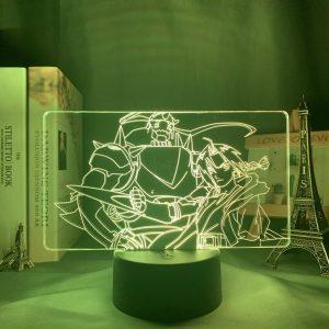 EDWARD ELRIC + LED ANIME LAMP (FULLMETAL ALCHEMIST) Otaku0705 TOUCH Official Anime Light Lamp Merch