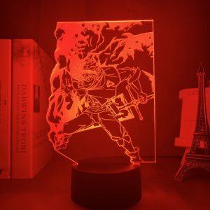 ASTA + LED ANIME LAMP (BLACK CLOVER) Otaku0705 TOUCH Official Anime Light Lamp Merch