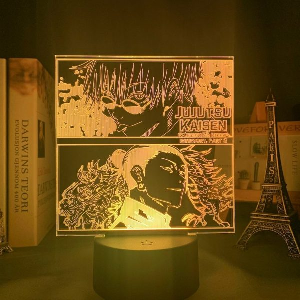 GETOU X GOJO LED ANIME LAMP (JUJUTSU KAISEN) Otaku0705 TOUCH Official Anime Light Lamp Merch