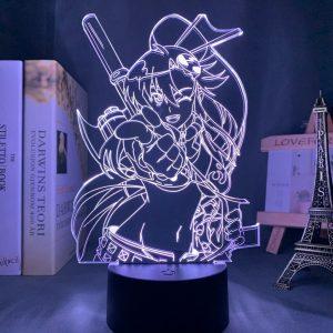 YOKO LED ANIME LAMP (TENGEN TOPPA GURREN LAGANN) Otaku0705 TOUCH Official Anime Light Lamp Merch