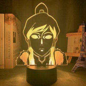 KORRA LED ANIME LAMP (AVATAR THE LAST AIRBENDER) Otaku0705 TOUCH Official Anime Light Lamp Merch