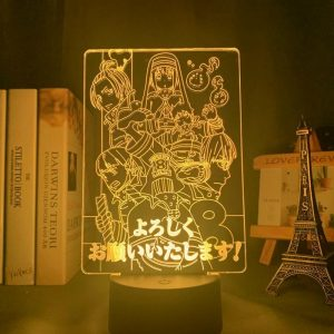 FIRE FORCE SQUAD LED ANIME LAMP (FIRE FORCE) Otaku0705 TOUCH +(REMOTE) Official Anime Light Lamp Merch