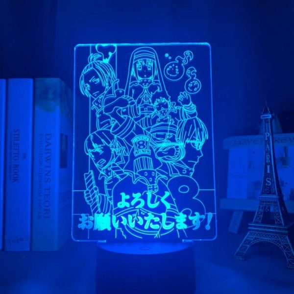 product image 1645681407 - Anime 3D lamp