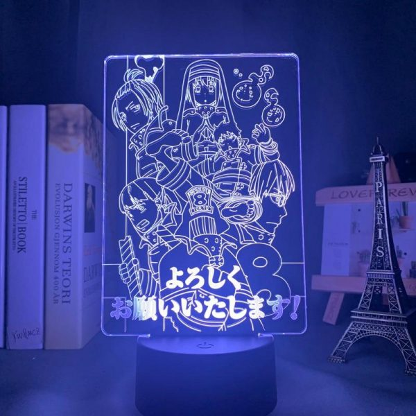 product image 1645681408 - Anime 3D lamp