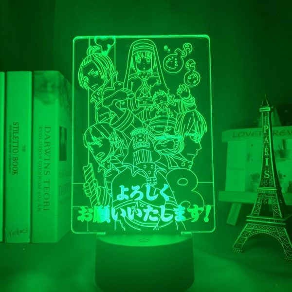 product image 1645681416 - Anime 3D lamp