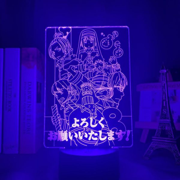 product image 1645681418 - Anime 3D lamp