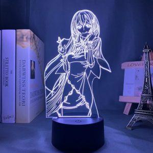 ECHIDNA LED ANIME LAMP (RE:ZERO) Otaku0705 TOUCH +(REMOTE) Official Anime Light Lamp Merch