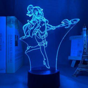 AQUA LED ANIME LAMP (KONOSUBA) Otaku0705 TOUCH +(REMOTE) Official Anime Light Lamp Merch