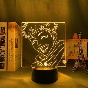 HAPPY ITADORI LED ANIME LAMP (JUJUTSU KAISEN) Otaku0705 TOUCH +(REMOTE) Official Anime Light Lamp Merch