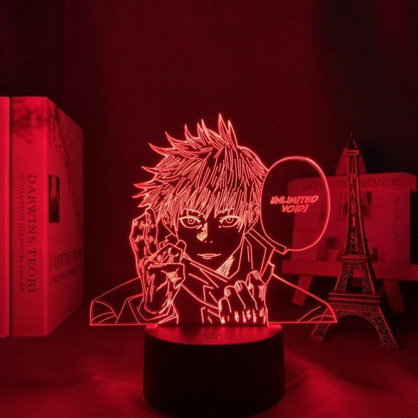 UNLIMITED VOID GOJO LED ANIME LAMP (JUJUTSU KAISEN) Otaku0705 TOUCH +(REMOTE) Official Anime Light Lamp Merch