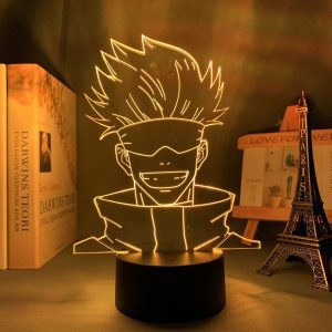 HAPPY GOJO LED ANIME LAMP (JUJUTSU KAISEN) Otaku0705 TOUCH Official Anime Light Lamp Merch