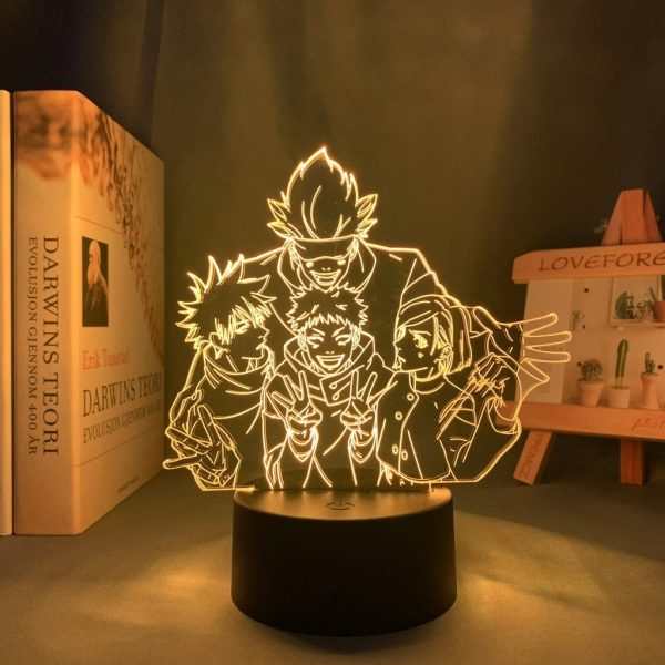 product image 1645923841 - Anime 3D lamp