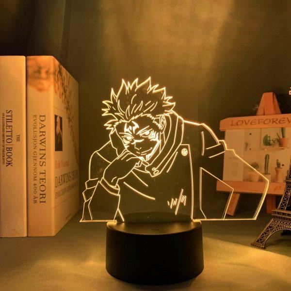 SUKUNA+ LED ANIME LAMP (JUJUTSU KAISEN) Otaku0705 TOUCH +(REMOTE) Official Anime Light Lamp Merch