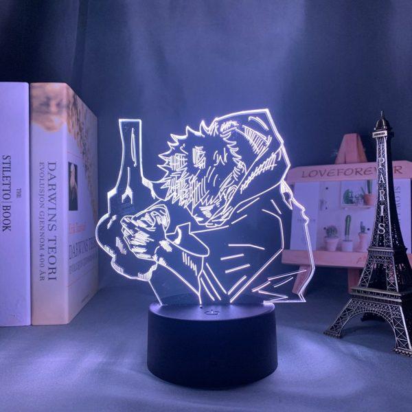 YUJI DIVERGENT FIST LED ANIME LAMP (JUJUTSU KAISEN) Otaku0705 TOUCH +(REMOTE) Official Anime Light Lamp Merch