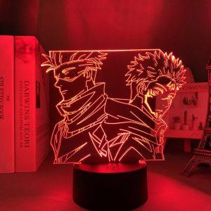 GOJO AND SUKUNA LED ANIME LAMP (JUJUTSU KAISEN) Otaku0705 TOUCH +(REMOTE Official Anime Light Lamp Merch