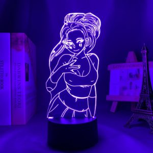 MOMO YAOYOROZU LED ANIME LAMP (MY HERO ACADEMIA) Otaku0705 TOUCH Official Anime Light Lamp Merch
