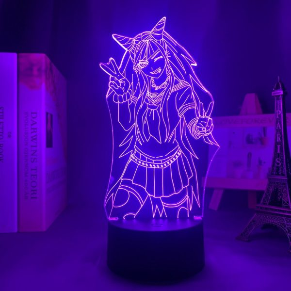 IBUKI SMILE LED ANIME LAMP (DANGANRONPA) Otaku0705 TOUCH +(REMOTE) Official Anime Light Lamp Merch