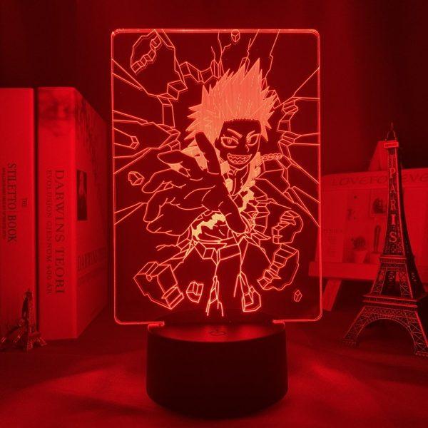 EIJIRO KIRISHIMA LED ANIME LAMP (MY HERO ACADEMIA) Otaku0705 TOUCH +(REMOTE) Official Anime Light Lamp Merch
