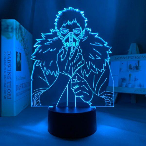OVERHAUL STARE LED ANIME LAMP (MY HERO ACADEMIA) Otaku0705 TOUCH +(REMOTE) Official Anime Light Lamp Merch