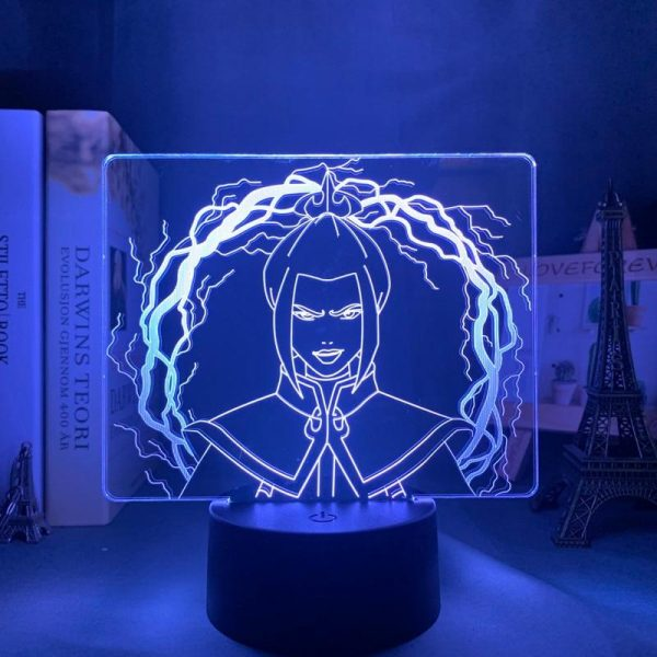 AZULA LED ANIME LAMP (AVATAR THE LAST AIRBENDER) Otaku0705 TOUCH +(REMOTE) Official Anime Light Lamp Merch