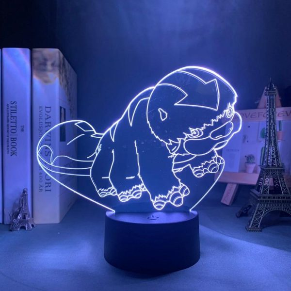 CUTE APPA LED ANIME LAMP (AVATAR THE LAST AIRBENDER) Otaku0705 TOUCH +(REMOTE) Official Anime Light Lamp Merch