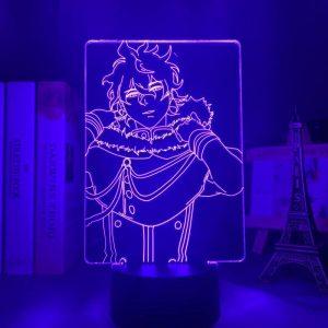 YUNO LED ANIME LAMP (BLACK CLOVER) Otaku0705 TOUCH Official Anime Light Lamp Merch