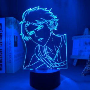 LEVI S3 LED ANIME LAMP (ATTACK ON TITAN) Otaku0705 TOUCH +(REMOTE) Official Anime Light Lamp Merch