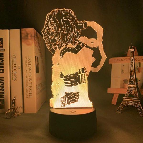 TOMURA SHIGARAKI LED ANIME LAMP (MY HERO ACADEMIA) Otaku0705 TOUCH +(REMOTE) Official Anime Light Lamp Merch