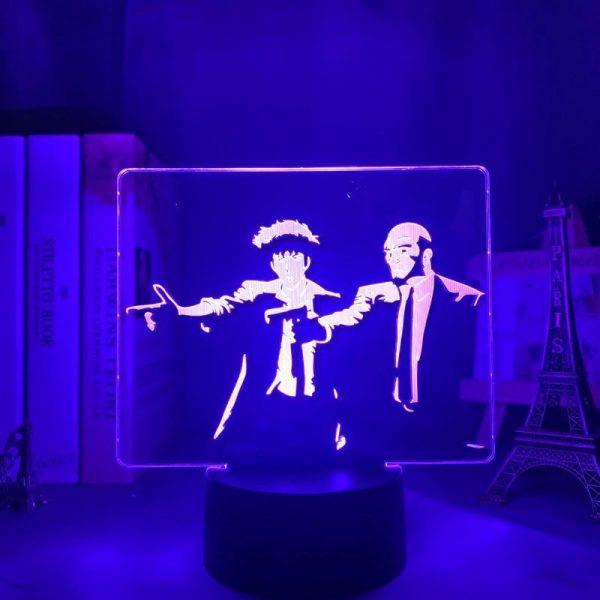 SPIKE X JET LED ANIME LAMP (COWBOY BEBOP) Otaku0705 TOUCH Official Anime Light Lamp Merch
