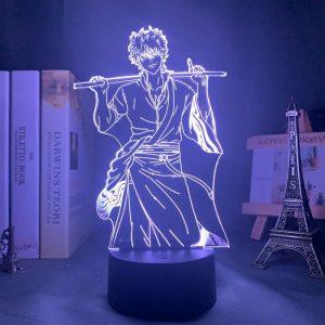 GINTOKI SAKATA LED ANIME LAMP (GINTAMA) Otaku0705 TOUCH Official Anime Light Lamp Merch