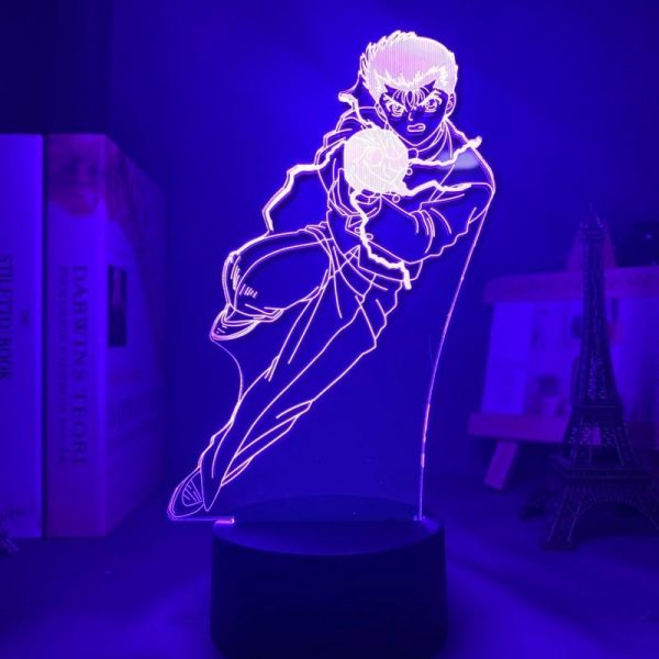 YUSUKE URAMESHI LED ANIME LAMP (YU YU HAKUSHO) Otaku0705 TOUCH +(REMOTE) Official Anime Light Lamp Merch