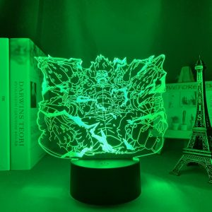 FUTURE SURPASSING PYTHON LUFFY LED ANIME LAMP (ONE PIECE) Otaku0705 TOUCH Official Anime Light Lamp Merch