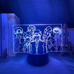 SAIKI'S SQUAD (THE DISASTROUS LIFE OF SAIKI K.) Otaku0705 TOUCH +(REMOTE) Official Anime Light Lamp Merch