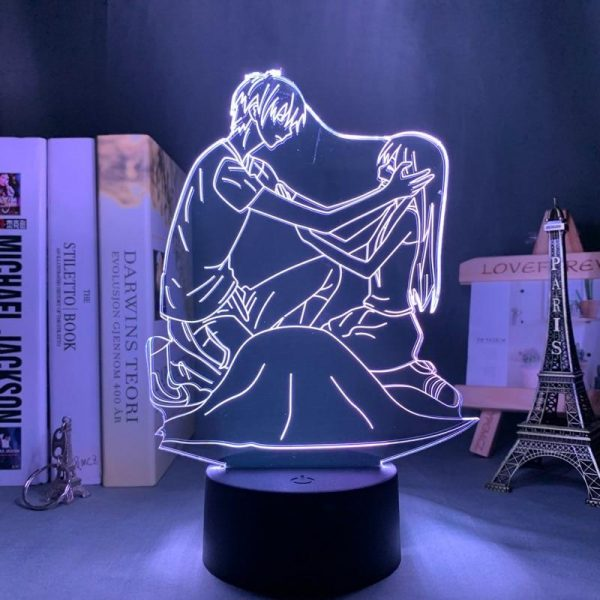 KYO AND TOHRU LED ANIME LAMP (FRUITS BASKET) Otaku0705 TOUCH +(REMOTE) Official Anime Light Lamp Merch