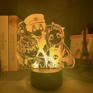 YUGI X NENE X KOU LED ANIME LAMP (TOILET-BOUND HANAKO-KUN) Otaku0705 TOUCH +(REMOTE) Official Anime Light Lamp Merch